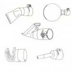 手提式熱風焊接機附件