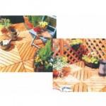 園藝地板 (杉木、松木、南洋硬木)