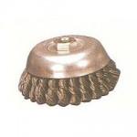 扭股碗型鋼絲輪(黑鋼絲)