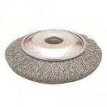 氣動碟型鋼絲輪(鍍銅)