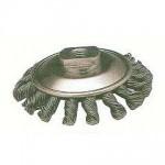 扭股碟型鋼絲輪(黑鋼絲)