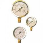 半鋼直立充油式壓力錶